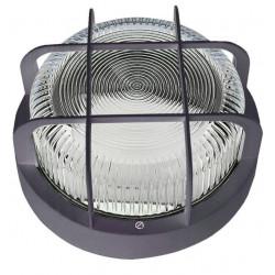 Aplique Ilumin Rdo Ext 100w Ip 44 Ne Rej/plas Fenoplastica