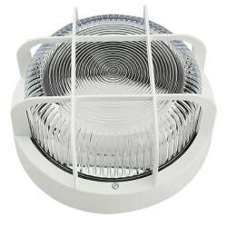 Aplique Ilumin Rdo Ext 100w Ip 44 Bl Rej/plas Fenoplastica