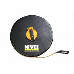 Cinta Metrica 20mt Fibra Abs Nivel