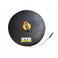 Cinta Metrica 50mt Fibra Abs Nivel