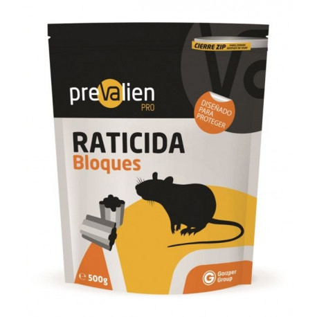 Raticida 500gr En Bloque Prevalien Uso Domestico