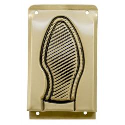 Placa Pisa  Puerta 147x98mm 97843 Acero Lat Micel