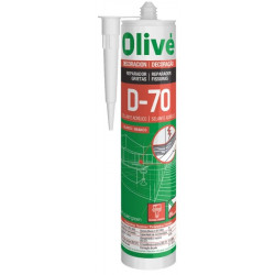 Masilla Acril Sellante 300 Ml I/e Olive