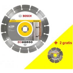 Disco Corte G.obra Segment 2x230mm+2x115mm Diam Bosch