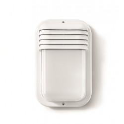 Aplique Ilumin Vertical Ext E27 18w Ip44 Pvc Bl Famat