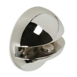 Portaestante Cristal 3-6mm Esferico Rei Zamak Cr/bri 2-2098.