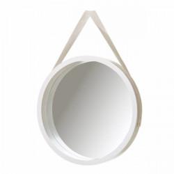 Espejo Baño Mural 40x40cm Rdo Pp Bl Unimasa