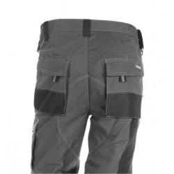 Pantalon Trabajo Xl 68% Alg 30% Poli Gr/neg 171 Multibolsill