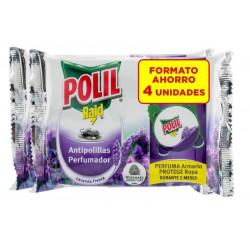 Antipolillas Lavanda Polill Raid Gancho J664164 4 Pz