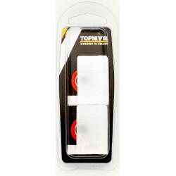 Rueda Mampara Rodamiento Nylon 40x33,5mm 2pz