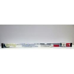 Riel Cortina 71/122cm Exten Vivah Met Bl Pared