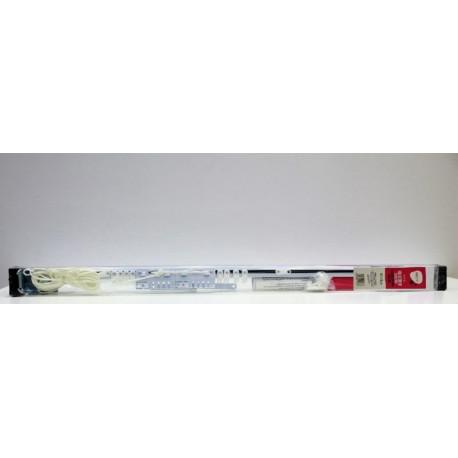 Riel Cortina 122/213cm Exten Vivah Met Bl Pared