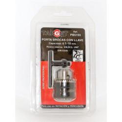 Portabrocas Tal Con Llave 1,5-10mm 3/8-24h Target