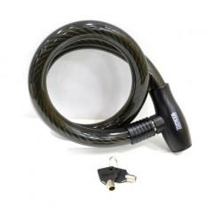 Candado Antirrobo Moto 25x1000mm Cable Nivel