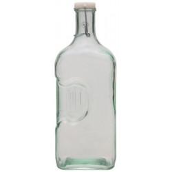 Botella de Vidrio Reciclado. V.san Miguel