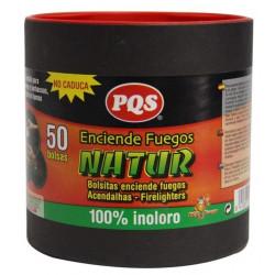 Encendedor Fuego Bolsita Natur Pqs 50 Pz