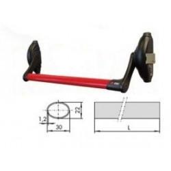 Barra Apoyo 900mm.roja Serie 59000 Bce008.04.0-1.07007.13.0