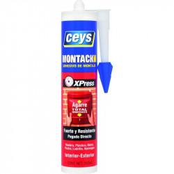 Adhesivo Montaje 290 Ml Montack Express Cart Ceys