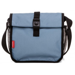 Bolsa Porta Alimentos Enrollable 250x300x260mm 4,2l Roll&go azul