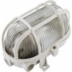 Aplique Ilumin Ov Ext E27 60w Pvc Bl Rej/plas Smartwares