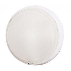 Plafon Circ E27 1x100w Ip44 Termop/vid Bl Estanco Con Sensor