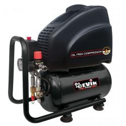 Compresor Coaxial  10lt S/aceite 2cv 8bar 140l Pro10sa Cevik 2