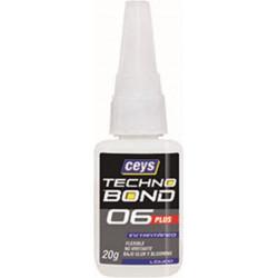 Adhesivo Instantaneo Flex 20 Gr Univ Tecno Bond 06 Plus Ceys