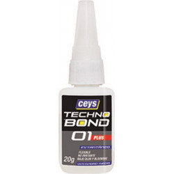 Adhesivo Instantaneo Flex 20 Gr Vis/med Univ Tecno Bond 01 P