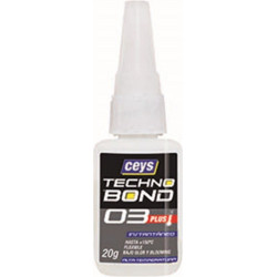 Adhesivo Instantaneo Flex 20 Gr A/temp Tecno Bond 03 Plus Ce