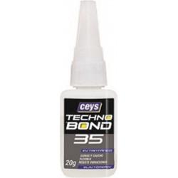 Adhesivo Instantaneo Flex 20 Gr Goma Tecno Bond 35 Ceys
