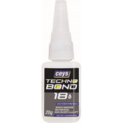 Adhesivo Instantaneo 20 Gr Humedad Tecno Bond 18 Ceys