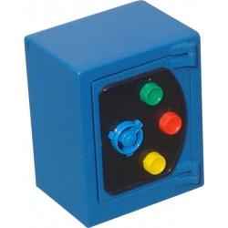 Caja  Alhajas 135x110x80mm Btv Acero Az Hucha