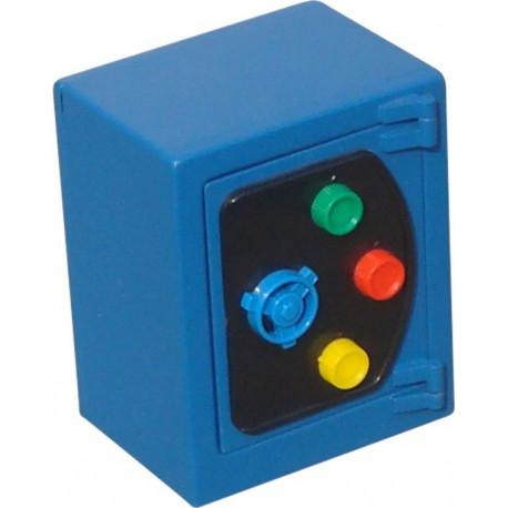 Caja Alhajas 135x110x80mm Btv Acero Az Hucha 11784