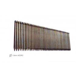 Clavo Clavad.neum 25mm Mini Tn 1,8-25 1,8mm Unicair 3.000 Pz