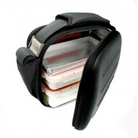 Bolsa Porta Alimentos Lunch Bag Satin Negro Inc.2 Hermet. Valira