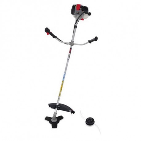 Desbrozador Gas. 42,7cc/50cm Man.doble 90º-28mm Powerplus