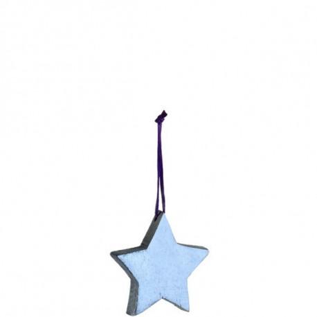 Adorno Nav. Estrella Dor 6,3cm Mad Leonardo