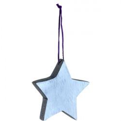Adorno Nav. Estrella Dor 10cm Mad Leonardo