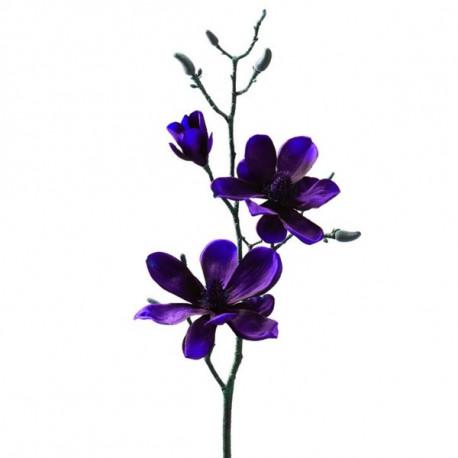Flor Nav. Magnolia Ro 80cm Pl Rosso Leonardo