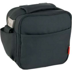 Bolsa Porta Alimentos  Lunch Bag Basic Negra/gris 6129/27