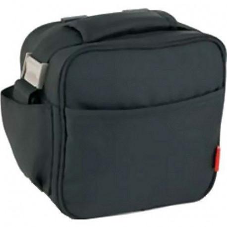 Bolsa Porta Alimentos  Lunch Bag Basic Negra/gris 6129/27