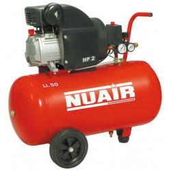 Compresor 50l C/aceite 2cv 8bares Rccc404lev555. Nuair Red L