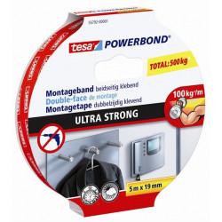 Cinta Adh 19mmx  5mt D/cara Bl Tesa Powerbond Tesatape