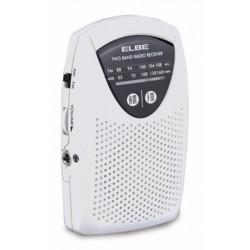 Radio Portatil 5,5x8,9x1,7cm Analogica Elbe Bl Super Slim Rf