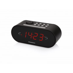 Radio Reloj Despertador Port Audiosonic Ne Proyector Fm Cl-1