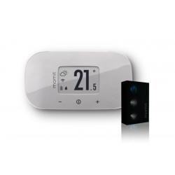 Termostato Wifi Pared/inalambrico Bevel V2 Momit Bl