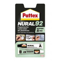 Adhesivo Nural 92 Plasticos 22 Ml Transp Pattex