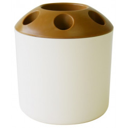 Vaso Baño Portacepillos 96×106mm Pl Bl Way-be