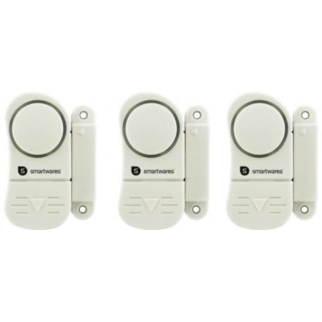 Alarma Pta/vent. Smartwares Bl 3 Ud