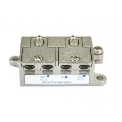 Distribuidor Antena Coaxial 1 Ent/2 Sal 4db Zinc Electro Dh